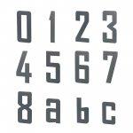 Hausnummer in 2D